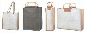 Jute Shopping Bags & Jute Bottle Bags