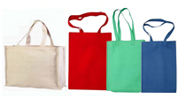 Natural Cotton & Canvas Shopping Bags