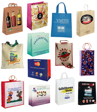 Personalised Custom Made Paper Bags