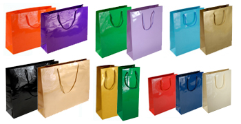 Laminated Paper Bags – Gloss Finish