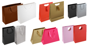 Laminated Paper Bags – Matt Finish